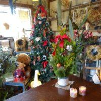 ワークショップのクリスマスツリー