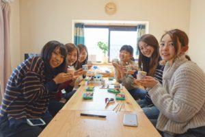 京都から体験教室に来られたお客様