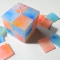 カラータイルキャンドル