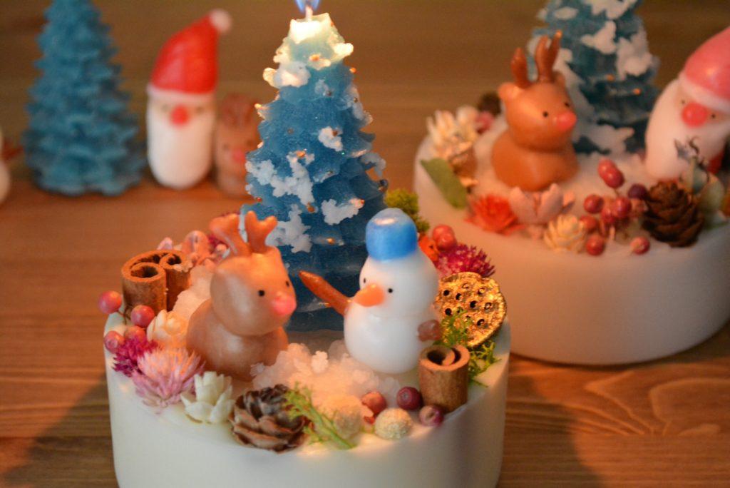 ナイトクリスマスキャンドル